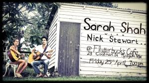Sarah&NickFlutterbiesPoster
