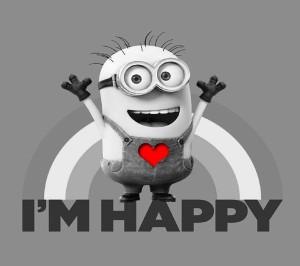 Happy Heart Minion